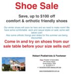 Shoe sale now on!