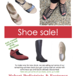 ORTHOTIC FRIENDLY SHOE SALE MARCH 2018